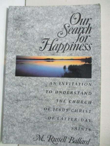 【書寶二手書T1/宗教_DOD】Our search for happiness : an invitation to understand…
