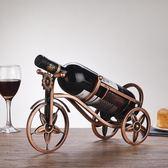 歐式酒瓶架鐵藝紅酒架子紅酒杯架家用葡萄酒架創意紅酒架擺件酒架夢想巴士