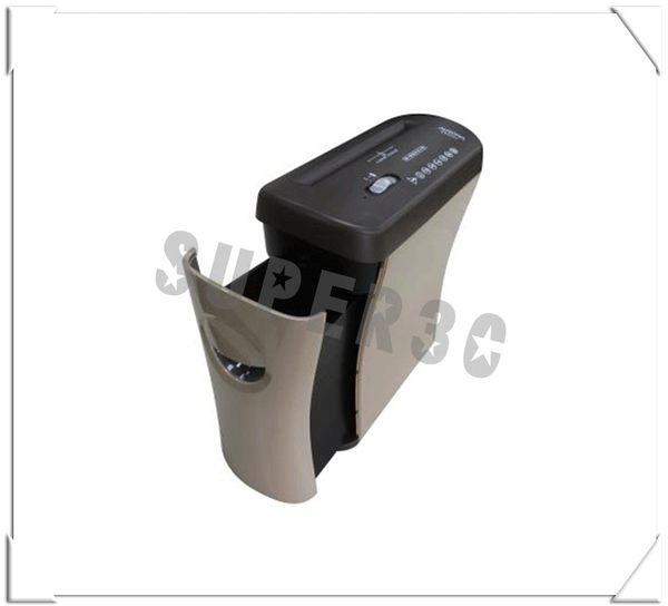 新竹【超人3C】AURORA 5張抽屜型碎段式碎紙機(咖啡色) ( AS526C )抽屜式設計 容易清理廢紙 全自動啟動