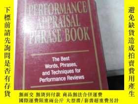 二手書博民逛書店Performance罕見Appraisal Phrase BY