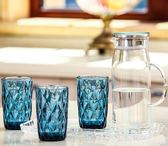 玻璃杯 耐高溫不燙手家用原色玻璃杯套裝開水泡茶厚實咖啡杯 AW1488【棉花糖伊人】