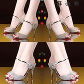 高跟細跟涼鞋女涼拖一字時尚女鞋-蘇迪奈