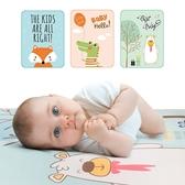 嬰兒床冰絲涼蓆 隔尿墊網眼防水透氣可洗纖維床墊-321寶貝屋
