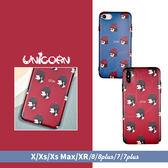 -情侶-里昂&瑪蒂達頭像排列 全包軟殼 保護殼 iphone XS Max XR X XS 8 8plus 7 7plus Unicorn手機殼