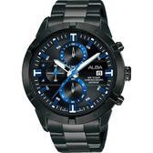 ALBA 雅柏 IG廣告款原創計時手錶-44mm VD57-X174SD(AM3751X1)