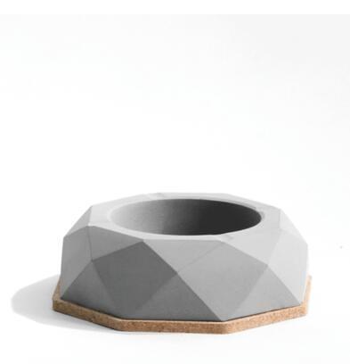 水泥混凝土簡約個性創意工業風裝飾煙灰缸