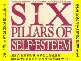 二手書博民逛書店罕見Six Pillars Of Self-Esteem 英文原
