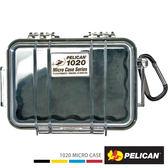 美國 PELICAN 1020 Micro Case 微型防水氣密箱-透明(黑)