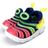 《7+1童鞋》小童 NIKE DYNAMO FREE SE (TD) 輕量毛毛蟲鞋 運動鞋 F829 彩色