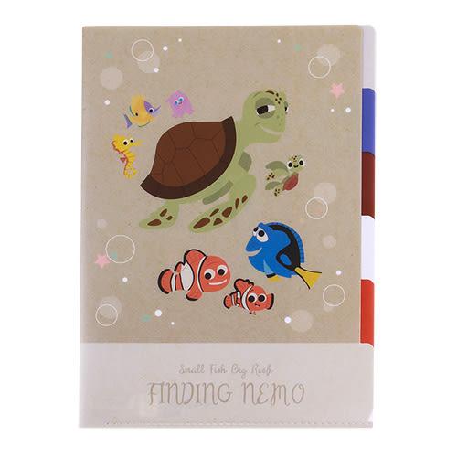《sun-star》皮克斯童趣插畫系列五層分類文件夾(海底總動員)★funbox生活用品★_UA49766