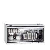 (全省安裝)喜特麗90公分臭氧電子鐘懸掛式烘碗機白色黑色JT-3690Q