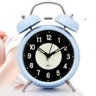 鬧鐘 可充電夜光小鬧鐘學生用床頭兒童北歐臥室靜音個性創意表超大聲音【快速出貨八折鉅惠】