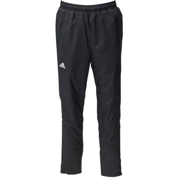 Adidas TM WB PNT BT 男 黑 白 運動休閒長褲 網球褲 防風 刷毛 饒舌歌手 climastorm 長褲 BS0165