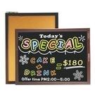 《享亮商城》015210 雙面木框軟木彩繪板(中)