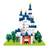 《 Nano Block 迷你積木 》【世界主題建築系列】NBH-010新天鵝堡 / JOYBUS玩具百貨