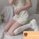 小腿長襪玫瑰蕾絲花朵鏤空溫柔法式復古lolita暗紋【小獅子】