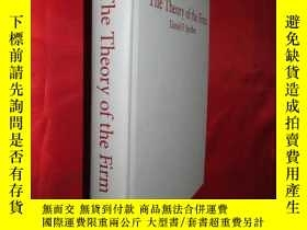 二手書博民逛書店The罕見Theory of the Firm: Microec