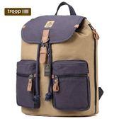 【TROOP】傳統簡約HERITAGE雙肩包/TRP0417NC