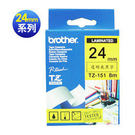 brother TZ-TAPE 護貝標籤帶系列 【 24 mm 】