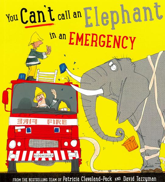 【麥克書店】YOU CAN'T CALL AN ELEPHANT IN AN EMERGENCY《主題:幽默.交通工具.韻文.動物》