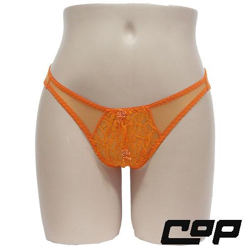 女內褲(COP)F420橘-F