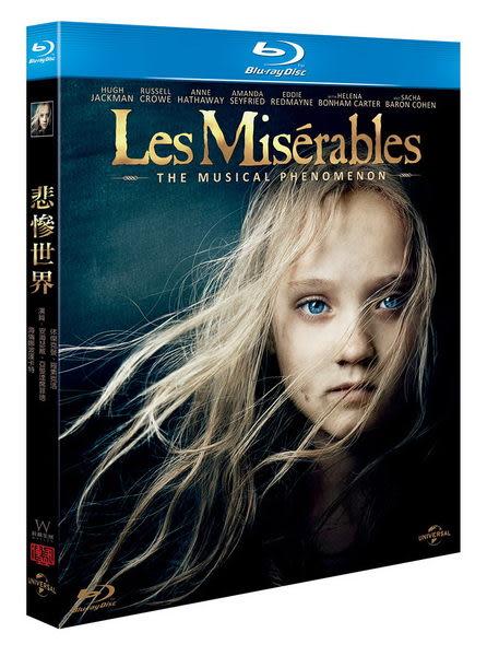 悲慘世界 藍光BD 單碟 Les Miserable (音樂影片購)