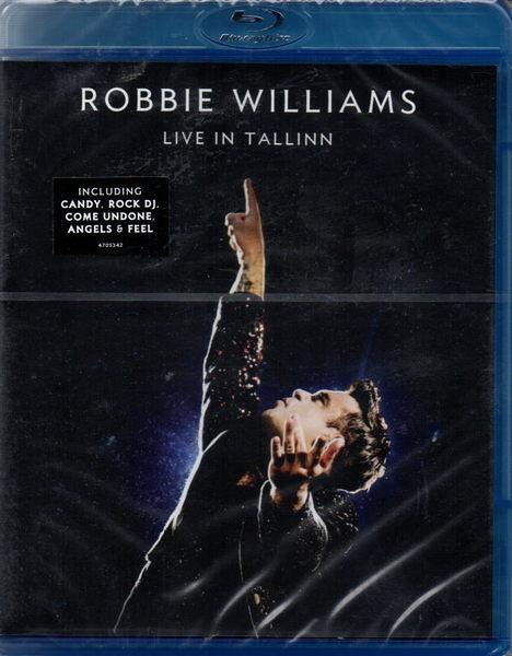 【停看聽音響唱片】【BD】ROBBIE WILLIAMS LIVE IN TALLINN