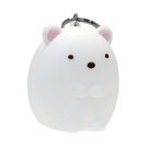 【震撼精品百貨】角落生物 Sumikko Gurashi~SAN-X~N矽膠小物收納包(白熊)*04023