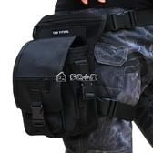 運動腿包 德毅營戶外多功能腰包男登山旅行旅游騎行運動包戰術腿包 多色小屋