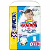 (全)【GOO.N】日本境內大王增量尿布/紙尿褲(褲型)女孩L56片x3包/箱[衛立兒生活館]