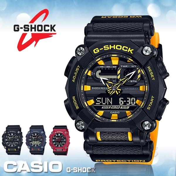 CASIO 卡西歐 手錶專賣店 GA-900A-1A9 G-SHOCK 雙顯 男錶 電子錶 橡膠錶帶 防水200米 GA-900A