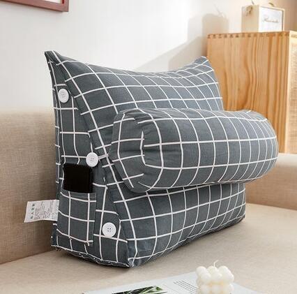 臥室床頭軟包榻榻米三角靠墊床上大靠枕客廳沙發抱枕護腰大靠背墊 【米娜小鋪】