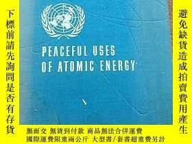 二手書博民逛書店PEACEFUL罕見USES OF ATOMIC ENERCY(