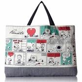CR14207【日本進口正版】史努比 Snoopy 學院篇 手提袋 手提包 肩背包 PEANUTS - 142076