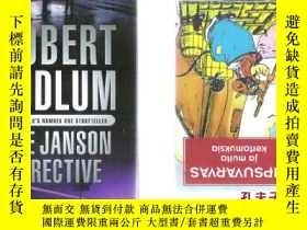 二手書博民逛書店英語長篇小說The罕見Janson Directive Robe