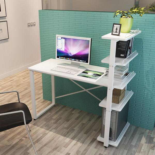 現貨快出 90cm暖白色五層組裝電腦桌 限時下殺6折 全網最低價     麥琪精品屋