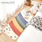 地毯臥室床邊滿鋪長條地毯家用客廳茶幾毯兒童房榻榻米地墊【白嶼家居】