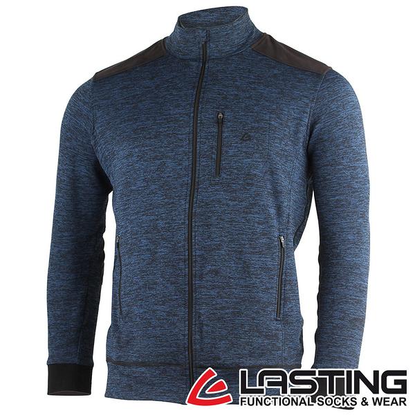 丹大戶外用品【LASTING】男款羊毛外套 LT-WAROL 麻花藍