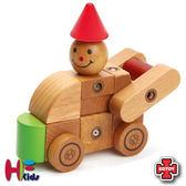 免運費《 EDTOY 》汽車組合積木╭★ JOYBUS玩具百貨