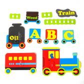 黏樂趣 NELO 卡通造形重複貼掛勾組(火車)