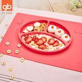 新品全矽膠分格兒童吸盤輔食碗防摔滑餐具      SQ4366『樂愛居家館』