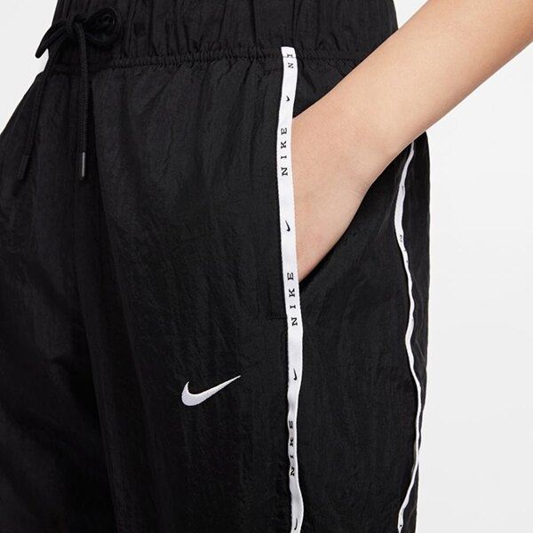 NIKE Woven Trousers 女裝 長褲 縮口褲 logo 運動 休閒 黑【運動世界】CK1409-010