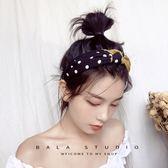 發箍韓國簡約成人波點拼色交叉寬邊布藝甜美可愛網紅同款頭箍發帶『新佰數位屋』
