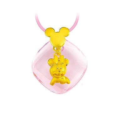 迪士尼系列金飾-彌月金飾禮盒-閃耀美妮款