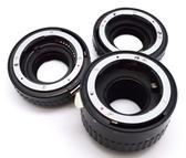 呈現攝影-N-AF 近攝接環組 For Nikon 自動對焦接寫環組 銅金屬接口 DX鏡頭都適用 12/20/36mm