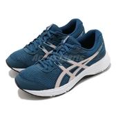 Asics 慢跑鞋 Gel-Contend 6 藍 粉 女鞋 基本款 運動鞋 【ACS】 1012A570401