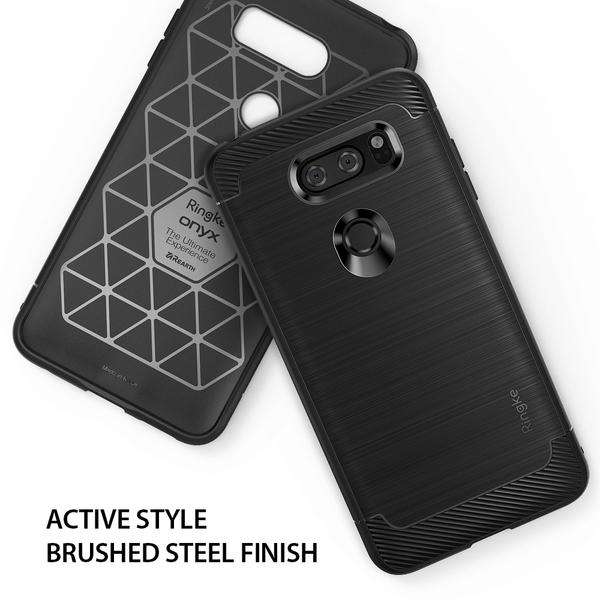 【贈指環支架】REARTH 韓國 Ringke Onyx LG V30 ThinQ 防撞緩衝手機殼 保護殼 內建吊繩孔位
