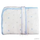 【奇買親子購物網】舒適牌 SCHICK 冬季純棉抱毯包巾 (藍/粉/黃)