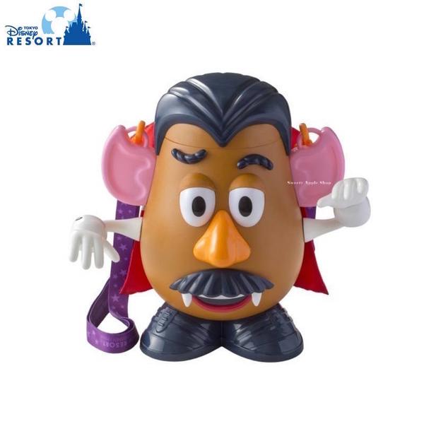 【SAS】日本限定 東京迪士尼樂園限定 蛋頭先生 萬聖節造型版 全新爆米花空桶 / 收納桶