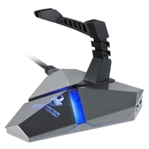 新盟幽靈蠍HUB 滑鼠集線器usb分線器3.0帶讀卡器2.0電腦擴展高速 英雄聯盟